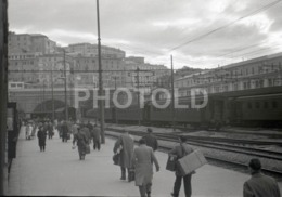 1957 GARE TRAIN STATION ITALIA ITALY AMATEUR 35mm ORIGINAL NEGATIVE Not PHOTO No FOTO - Other