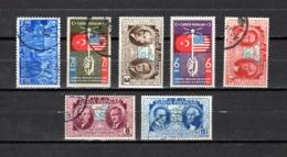 Turquía  1938-39 .-  Y&T  Nº   905-906/911 - 1921-... República
