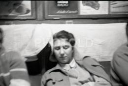1957  TRAIN ITALIA ITALY AMATEUR 35mm ORIGINAL NEGATIVE Not PHOTO No FOTO - Photographica