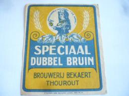 Belgische Bier Etiket Bekaert Torhout - Alcohols