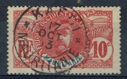 Mauritania, 10c., Louis Faidherbe, Governor Of Sénégal, 1906, VFU superb Postmark (KAEDI) - Mauritania (1906-1944)
