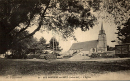 LES MOUTIERS EN RETZ L'EGLISE - Les Moutiers-en-Retz