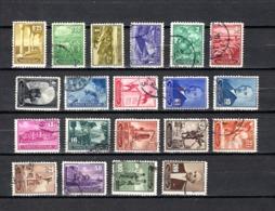 Turquía  1943 .-  Y&T  Nº   973/992 - Usados