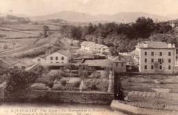 CIBOURE - Saint Jean De Luz - Les Montagnes De La Frontière D'Espagne Et Le Pic - BR 1415 - écrite - Tbe - Ciboure