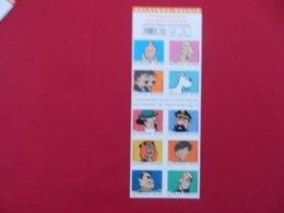 Carnet De 10 Timbres Neufs 50 Gr Belgique (Tintin) - Carnets 1953-....