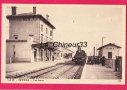 13 - ISTRES---La Gare---Train Vapeur---animé - Istres