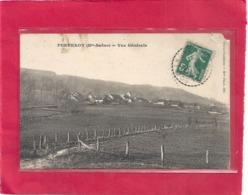 PURGEROT . VUE GENERALE . CARTE AFFR SUR RECTO LE 18-10-1911 - France