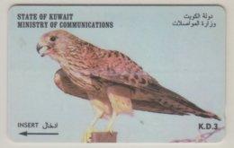 KUWAIT 1997 BIRD KESTREL - Águilas & Aves De Presa