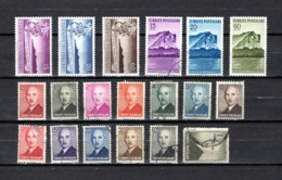 Turquía  1947-48 .-  Y&T  Nº   1054/1056-1057/1059-1060/1072 - Usados