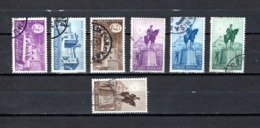 Turquía  1948 .-  Y&T  Nº   1075/1076-1078-1079/1082 - Usados