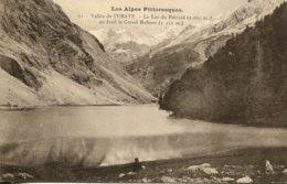 CPA -  VALLEE DE L'UBAYE - LE LAC DU PAROIRD - Francia