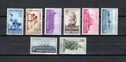 Turquía  1949 .-  Y&T  Nº   1084/1085-1087/1092 - Usados