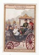 CHOCOLAT D'AIGUEBELLE   Arrivée Du Czar Et De La Czarine Au Château De Versailles En 1896 - Aiguebelle