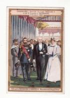 CHOCOLAT D'AIGUEBELLE   Arrivée Du Czar Nicolas II Et De La Czarine à Cherbourg En 1896 - Aiguebelle