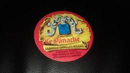 """Etiquette De Fromage """" Camembert Le Panache    """" - Cheese"""
