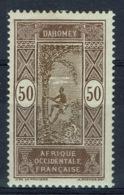Dahomey (French Colony), Palmtree, 50c., 1913, MH VF - Dahomey (1899-1944)