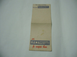 AMARO RAMAZZOTTI BLOCK NOTES APPUNTI N.6 FOGLIETTI. - Publicité