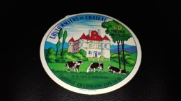 """Etiquette De Fromage """" Coulommiers Du Château  """" - Cheese"""