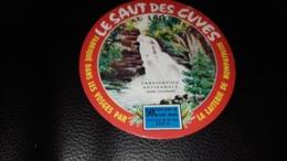 """Etiquette De Fromage """" Le Saut Des Cuves   """" - Cheese"""