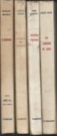 Lot   De 4 Livres  Divers  édit Flammarion  Année 1960 - Boeken, Tijdschriften, Stripverhalen
