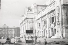 1957 FIAT TOPOLINO MILANO MILAN ITALIA ITALY AMATEUR 35mm ORIGINAL NEGATIVE Not PHOTO No FOTO - Photographica