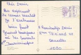 5Fr. Baudouin ELSTROEM (rouleau Coupé à Cheval) Obl. Méc. De BRUXELLES Sur CV Du 22-III-1975 Vers Bruxelles.  Belle Curi - 1970-1980 Elström