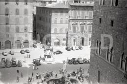 1957 FIAT TOPOLINO ALFA ROMEO 6C 2500 MILANO MILAN ITALIA ITALY AMATEUR 35mm ORIGINAL NEGATIVE Not PHOTO No FOTO - Photographica