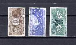 Turquía  1954.-  Y&T  Nº   1212/1214 - Usados