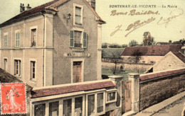 FONTENAY LE VICOMTE - La Mairie - Frankrijk