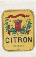 AN 585 / ETIQUETTE   CITRON  SUPERIEUR  DOURDAN - Labels