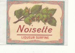 AN 582 / ETIQUETTE    NOISETTE LIQUEUR SURFINE  N° 187 - Labels