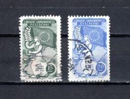 Turquía  1954.-  Y&T  Nº   1216/1217 - Usados