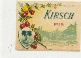 AN 573 / ETIQUETTE  KIRSCH  PUR N° 543 - Etiquettes