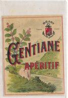 AN 572 / ETIQUETTE      GENTIANE APERITIF - Unclassified