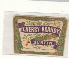 AN 570 / ETIQUETTE    CHERRY BRANDY SURFIN  N° 167 - Unclassified