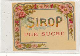 AN 567 / ETIQUETTE     SIROP     PUR SUCRE N° 417 - Labels