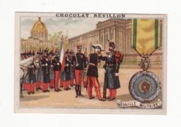 CHOCOLAT REVILLON    Soldats    Médaille Militaire - Revillon