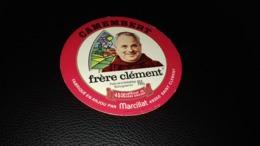 """Etiquette De Fromage """" Frère Clément  """" - Cheese"""