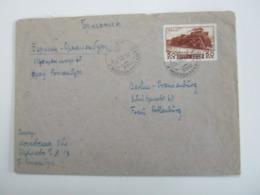 1950 , 50 Kop. Eisenbahn Auf Brief Nach Deutschland - 1923-1991 USSR