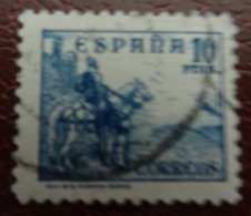 &44A& ESPAÑA SPAIN EDIFIL 831, YVERT 589A, , MICHEL 780 II VERY FINE USED. HORSE. CID.. - 1931-Today: 2nd Rep - ... Juan Carlos I
