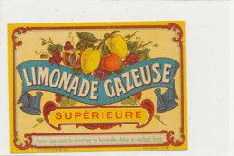 AN 664 / ETIQUETTE    LIMONADE GAZEUSE  SUPERIEURE - Unclassified