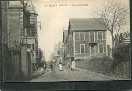 CPA - BERCK PLAGE - Rue Rothschild, Animé - Berck