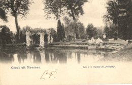 """Meerssen 1904 Groet Uit Meersen Tuin Kasteel De """"Proostaij"""" - Nederland"""