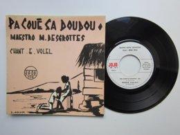 Chant : Emile VOLEL - OU MAL TOMBER - PA COUE CA DOUDOU - Disque 45t JOJO (MUSIQUE MARTINIQUAISE) Cachet Au Dos - World Music