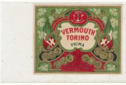 AN 637 / ETIQUETTE    VERMOUTH  TORINO PRIMA - Autres