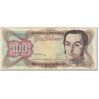 Billet, Venezuela, 100 Bolivares, 1992, 1992-05-12, KM:66d, B - Venezuela