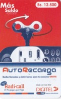 Venezuela, Digitel,  03 - Servicios Teléfonicos, Autorecarga, 2 Scans. - Venezuela