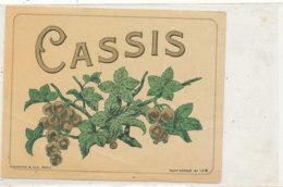 AN 603 / ETIQUETTE  CASSIS  N° 144 - Labels