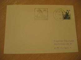 ESSEN 1988 Antiquitaten Kunst Antique Dealer Antiquaire Cancel Card GERMANY Archeology Archeologie - Archäologie
