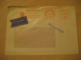 FRANKFURT 1968 Antiquariat Antique Dealer Antiquaire Cancel Cover Meter Mail GERMANY Archeology Archeologie - Archäologie